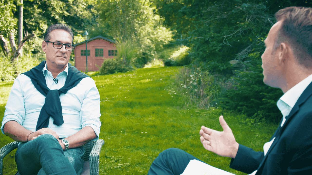 HC Strache im Exklusiv-Interview: Warum man ihn loswerden möchte