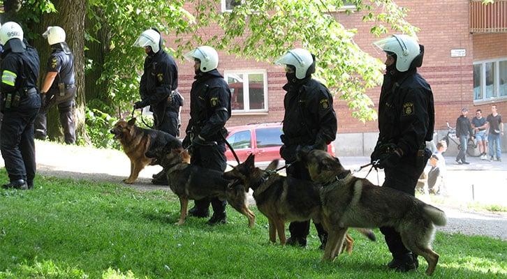 Schweden: Städte müssen nun privates Sicherheitspersonal zukaufen